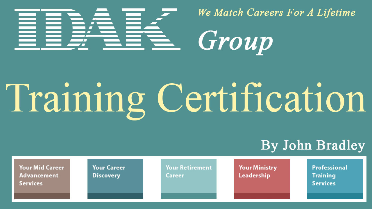 What is your certification process for training coaches, counselors and educators?