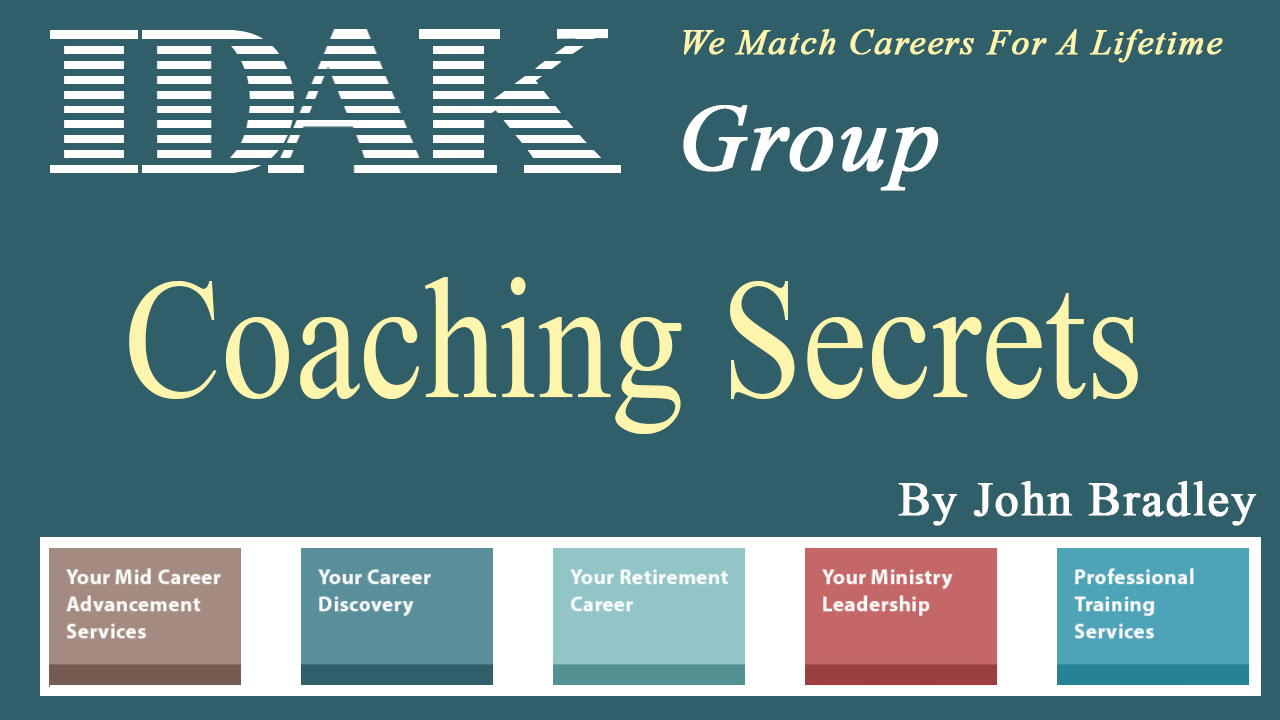 What is your coaching secret to getting hired for the ideal job?